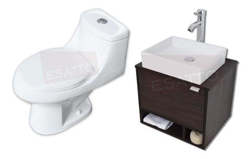 Esatto® Kit Sanitario+mueble Dcta Elige Lavabo Espejo
