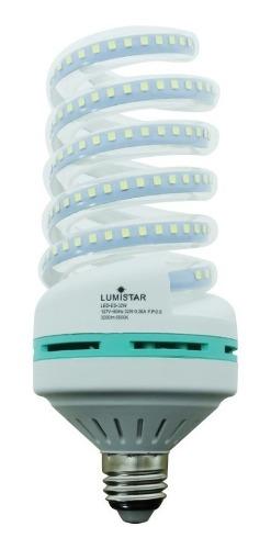 Foco Led Espiral, Lumistar, Led-es-32w-65k Blanco Frio