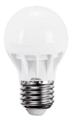 Foco Tipo Bulbo Econo Power -b Luz Blanca 5w Adir