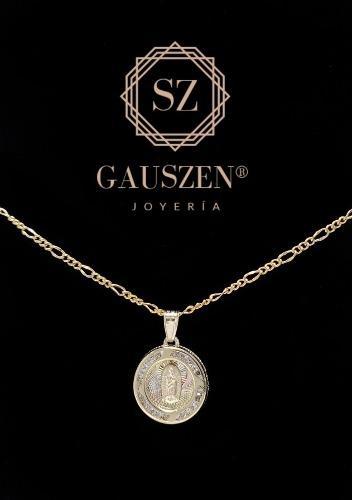 Hermosa Medalla Virgen De Guadalupe Bautizo&comunión Oro