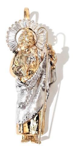 Hermoso San Judas Tadeo 11grs. Auténtico Oro 10k. Mide