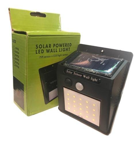Lampara Solar 8w Led Super Potente, Con Sensor Movimiento
