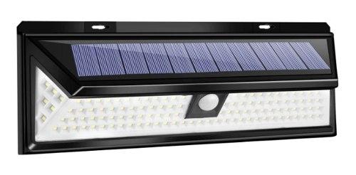 Lampara Solar Exterior 118 Led Sensor Movimiento