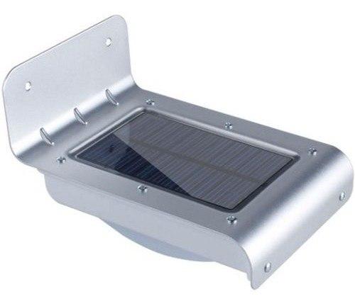 Lámpara Solar 16 Leds Sensor De Movimiento Automática