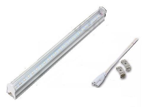 Lote 20 Tubos Led 1.2mts 18w T8 Canaleta Plástico 18watts