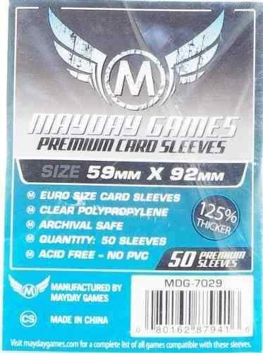 Mayday Micas Premium Euro 59x92 Mm Pack 50