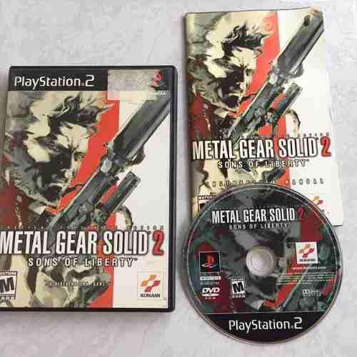 Metal Gear Solid 2 Juegazo Completo Para Tu Ps2