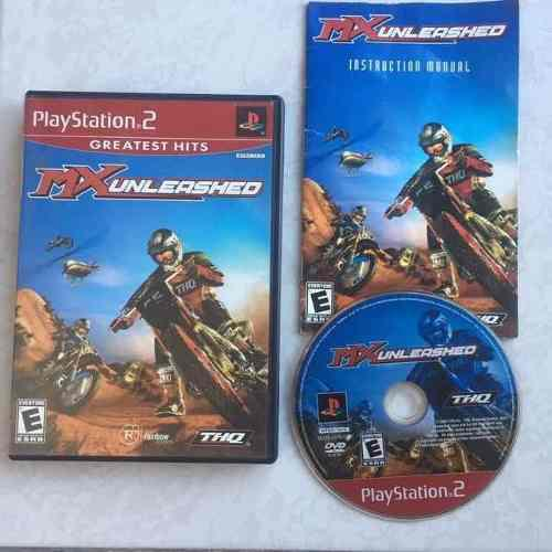 Mx Unleashed Juegazo Completo Para Tu Ps2 Motos