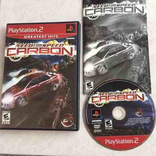 Need For Speed Carbon Juegazo Completo Para Tu Ps2 Chécalo