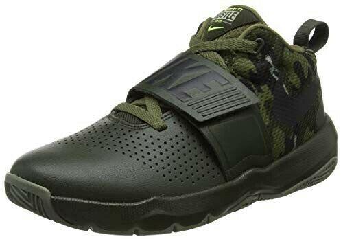 Nike Team Hustle D8 GS Verde militar