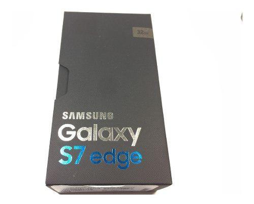 Nuevo Samsung Galaxy S7 Borde Sm-g935v Oro De 32gb Desbloque