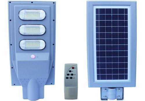 Paquete 5 Lampara Led 90w Panel Solar Alumbrado Publico