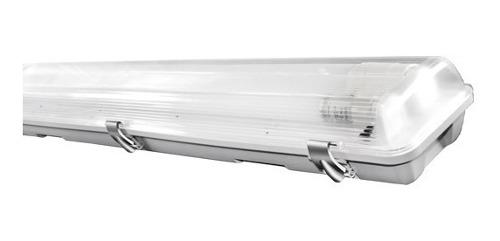 Paquete Gabinete Con Tubos Led Apv 18w 60cms Conex 1 Lado