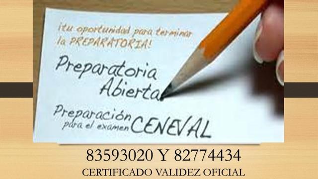 Preparatoria Ceneval 5 Meses (1 Examen). Instituto Asia.