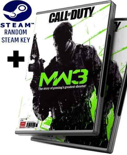 Random Steam Key + Call Of Duty Modern Warfare 3 + Dlcs -