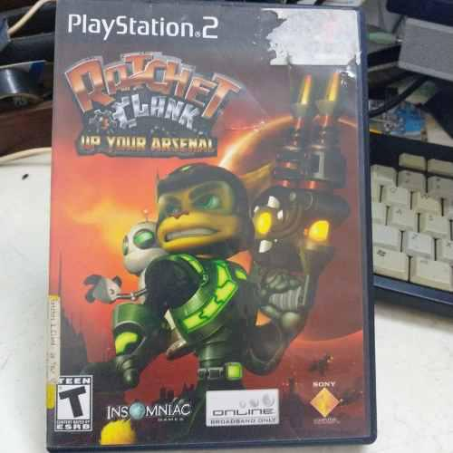 Ratchet And Clank Juegazo Para Tu Ps2