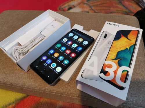 Remato Samsung Galaxy A30 Blanco Cmo Nvo Liberado Telcel 32g