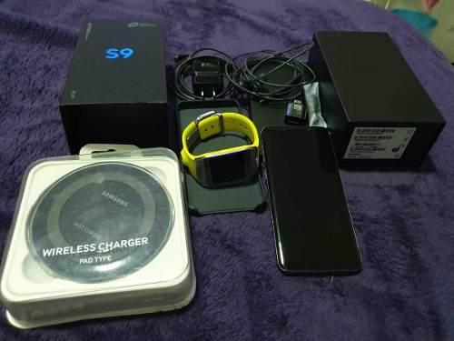 Samsung Galaxy S9 Usado + Regalos Cargador Y Reloj