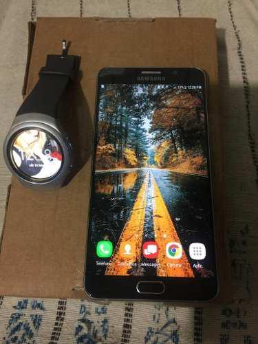 Samsung Note 5 Con Reloj Gear S2