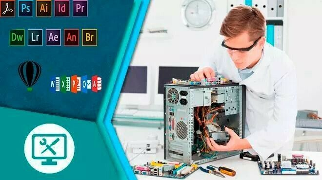 Servicio de Reparacion profesional a equipo de computo