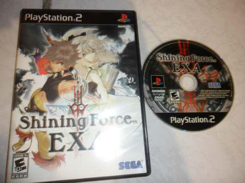 Shining Force Exa Para Tu Ps2 Juegazo!!! Rpg