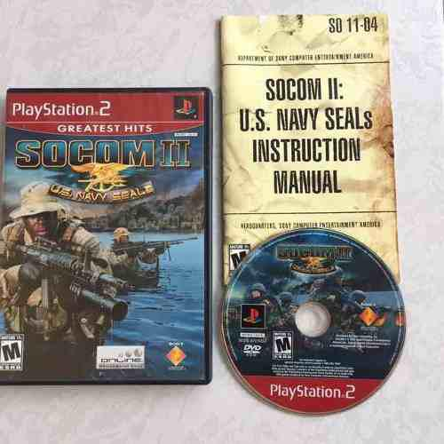Socom 2 Us May Seals Juegazo Completo Para Tu Ps2