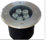 Spot Empotrable De Piso Exterior Led 5watts Ip65 Foco Calido