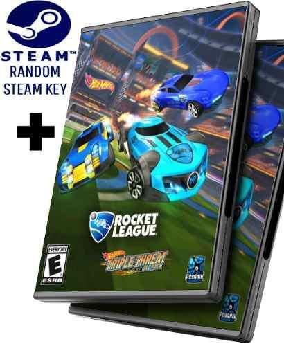 Steam Key Random + Rocket League + Hot Wheels Dlc - Juego Pc
