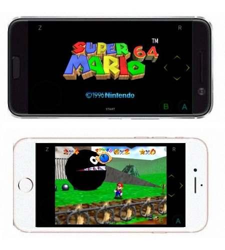 Super Mario 64 Para Android Emulador N64