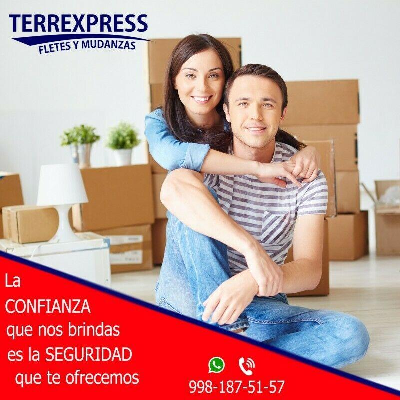 """""""TERREXPRESS"""" Servicio de fletes y mudanza."""