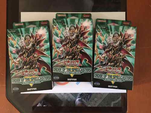 Yu-gi-oh! X3 Structure Deck Order Of The Spellcasters