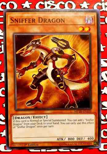 Yugi-oh! Sniffer Dragon Mp18-en109 Común