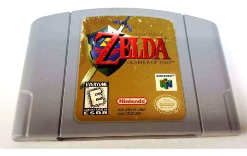 Zelda Ocarina Of Time Nintendo 64 N64 Cartucho Retromex Tcvg