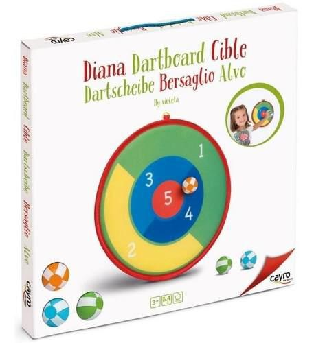 114 Diana Infantiil Suavecita Velcro 35 Cm 3 Pelotas Cayro