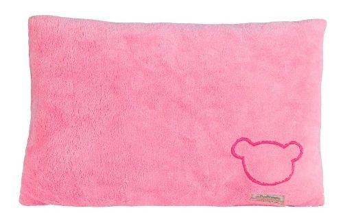 Almohada Para Bebe Microfibra Suave Calida Chiquimundo Rosa