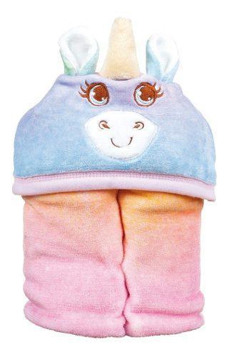 Baby Mink Caritas Cobertor Con Capucha Y Reverso De Borrega