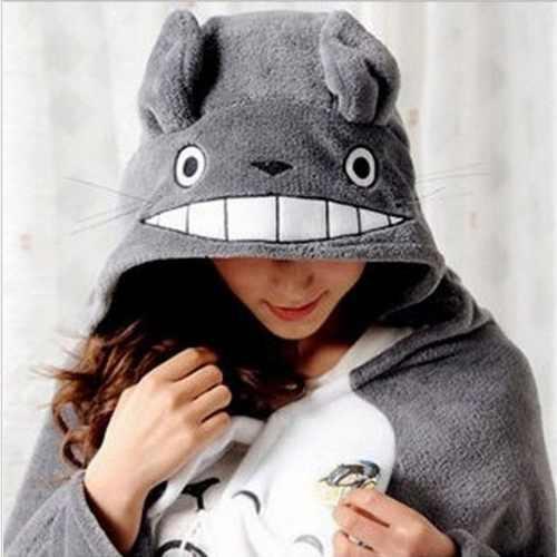 Capa Con Gorro Cobija Manta, Mi Vecino Totoro Estudio Ghibli