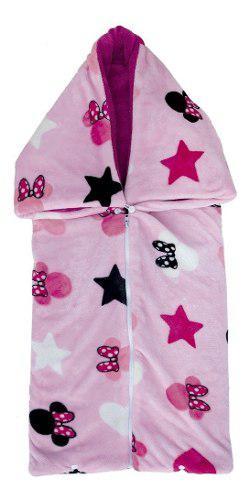 Chiquisack Alaska Cobertor Costalito Para Bebe 2 En 1 Minnie
