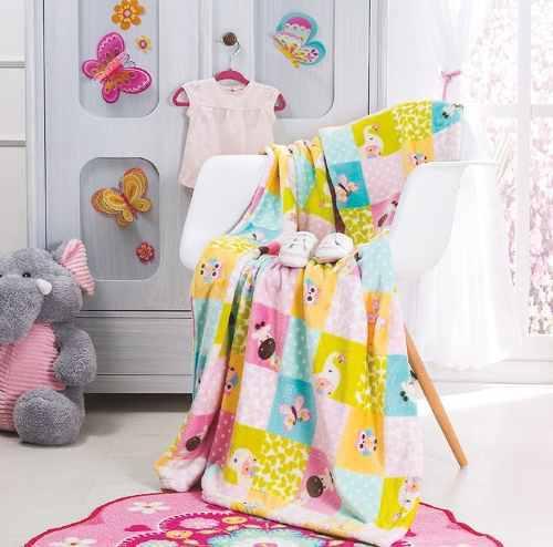 Cobertor Ligero Para Cuna Arcoiris Vianney