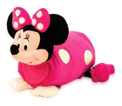 Cojín Minnie Mouse Comfy 4 En 1 Cobija Mochila.