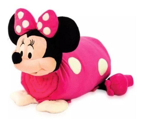 Cojín Minnie Mouse Comfy 4 En 1 Cobija Mochila. Envío