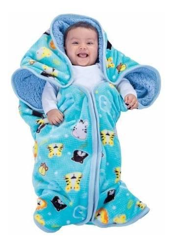 Costalito Para Bebe Con Borrega Baby Sack Zoo Bc19