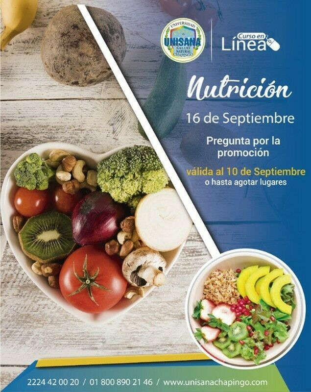 Curso en Línea Nutrición UNISANA CHAPINGO