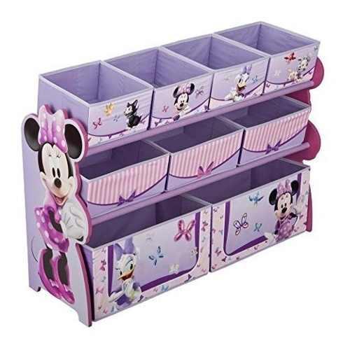 Delta Juguetero Organizador Juguetes De Minnie Mouse Grande