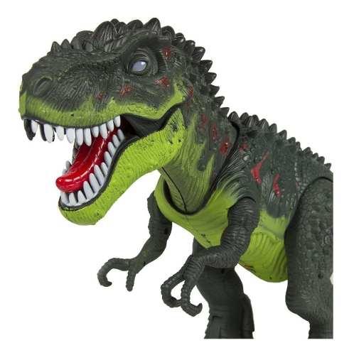 Dinosaurio Rex De Juguete Con Luces Y Sonido
