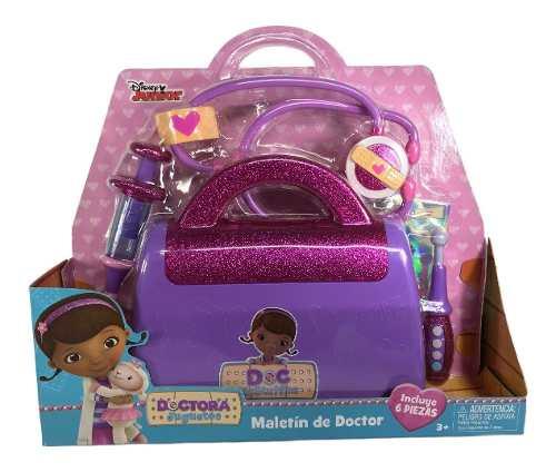 Doctora Juguetes Maletin Doctor Brillos 6pz Disney Junior
