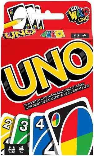 Juego De Mesa Uno Original Clasico Juego Cartas