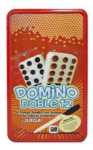 Juego Domino Doble 12