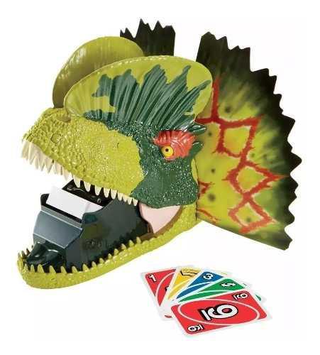 Juego Mesa Uno Dino Attack Jurassic World Regalo Promocion