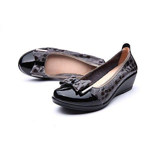 Libre Comme L X26 39 Air Mujer Zapatos De Cuero Con Cuna, Ca